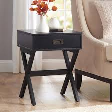 better homes gardens x leg accent table with drawer multiple colors com