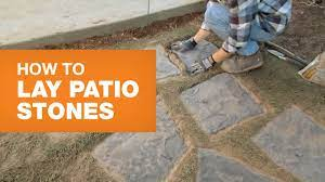 how to lay patio stones you