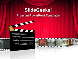 Movie Powerpoint Template Cinema Powerpoint Templates Slides And Graphics