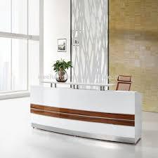 modern office reception desk. Modern Office Reception Desk Design Curved Counter Table De S