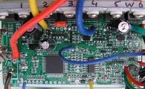 ku63 motor controller ku63 motor controller top out some capacitors