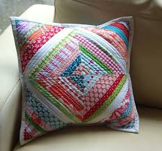 30 best Quilted cushions images on Pinterest | DIY, Beautiful and ... & The Dining Room Drawers: String Quilt Cushion Adamdwight.com