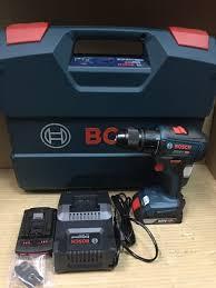 Máy khoan vặn vít dùng pin Bosch GSR 18V-50   CÔNG TY TNHH THƯƠNG MẠI ĐIỆN  MÁY HỒNG ÂN