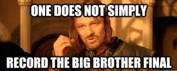 Big Brother Final Meme - Big Brother 2012 (series 13 ... via Relatably.com