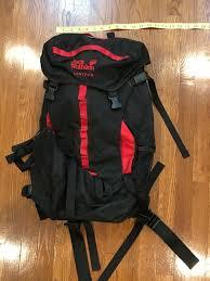 Dana Design Bridger Pack Jack Wolfskin Red Black Hiking Backpack Small Sz 22 In Internal Frame W Waist