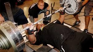 Strength Training Bench Press