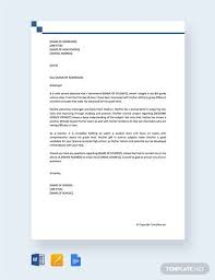 How To Format A Letter Of Recommendation For A Student Sample Recommendation Letter For High School Student 9
