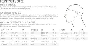 Giro Ski Helmet Size Chart Best Picture Of Chart Anyimage Org