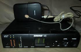 Shure Uc4 Ua Uc1 Ua Earset Microphone Wireless Bodypack Transmitter Receiver Ebay