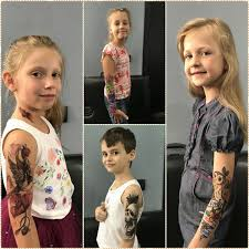 татуировки детям Bad Bird Ink