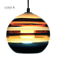 colored glass light fixtures modern hand painted colorful orb pendant lighting hanging lights coloured uk fixtu