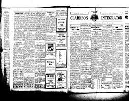 Clarkson Integrator Potsdam N Y 1920 Current January
