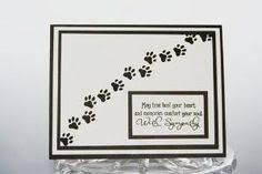 Sympathy Card Pet Loss 346 Best Card Making Pet Sympathy Images In 2019 Pet Sympathy