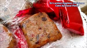 Sri Lankan Vegetarian Christmas Cake English No Eggs Youtube