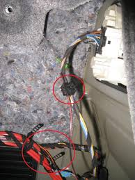 diy oem tow bar hitch install bimmerfest bmw forums now uncoil the orange wire and uncoil the harness 6 on the diagram holding the green and the green orange wires straighten them out as much as possible