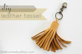 i saw an over sized leather tassel in a recently i think it was real simple but i read too many s so i m not