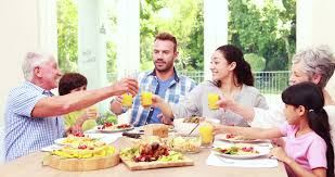 Royalty-free 14797873 100 Toasting Stock Video During Family Happy Shutterstock Footage Lunch