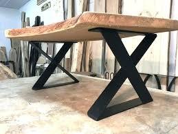table legs metal table legs inch tall steel coffee table base set x base series