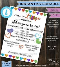 Invitation For Party Template Simple Rodan Fields Invitation Business Launch Party BBL Invite RF Etsy