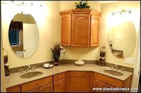 angled upper cabinets bath storage ideas baby bathtub bathroom home depot
