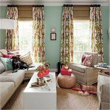 single panel curtain. Beautiful Living Room Colorful Printed Floral Pattern Tab Top Blackout Single Panel Curtains White Wooden Coffee Curtain