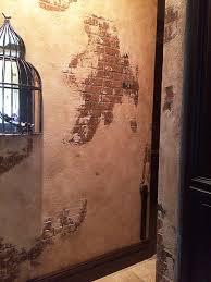 distressed faux brick painting custom finishes avani studios