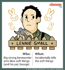 lennie small in of mice and men character analysis