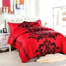 black and white duvet covers king red black white duvet cover king size bed linen china