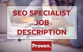 Social Media Marketing Job Description Inspiration The Perfect SEO Specialist Job Description Proven