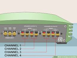 how to bridge an amplifier 7 steps pictures wikihow image titled bridge an amplifier step 4