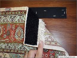 rug hanging kit. hang an oriental rug; velcro; rug with velcro hanging kit n