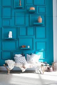 Turquoise Wall Paint Best 25 Painted Shelving Ideas On Pinterest Yellow Home Office