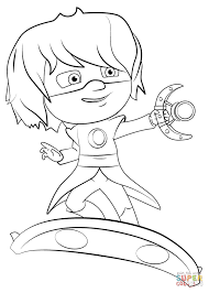 Small Picture Luna Girl on Luna Board coloring page Free Printable Coloring Pages