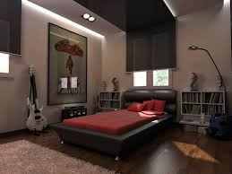 cool room ideas for teen completed with appealing bed and tidy wall bookshelves on laminate flooring amazing bedroom awesome black wooden