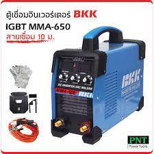 ตู้เชื่อมอินเวอร์เตอร์ BKK IGBT MMA-600 สายเชื่อม 10ม.