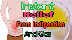 pain gas trouble home remes