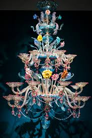 this object which i once heard a young visitor describe as the dr seuss chandelier stands out like no other in our galleries