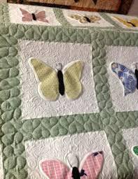 Free Butterfly Quilt Pattern at TrishsCrafts.com   quilt ... & Butterflies- Quilted by Harriet Adamdwight.com
