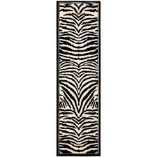 home and furniture ideas entranching animal print runner rug at hand tufted jungle wool area