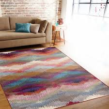 nobby multi color area rugs cute loft purple blue rug reviews gorgeous colored for 10