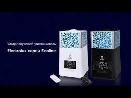 Обзор <b>увлажнителя воздуха Electrolux</b> серии Ecoline (EHU ...
