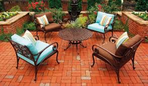patio collections three coins cast