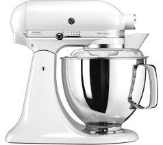 kitchenaid mixer white. kitchenaid artisan 5ksm175psb stand mixer - white kitchenaid