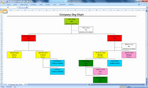 40 Organization Chart Template Excel Markmeckler Template