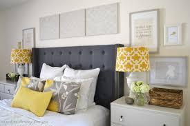 Bedroom  Modern Beige Bedroom Featuring Black Bed Headboard - Beige and black bedroom