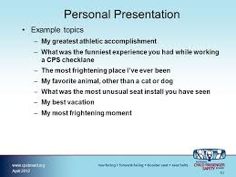 speaking effectively module ppt video online  personal presentation