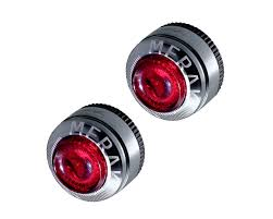 Moon Merak Bar End Rear Cycle Lights Moon Merak Bar End Rear Cycle Lights Black Non Rechargeable