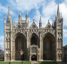 gothic essay comparision of gothic cathedral architecture of  comparision of gothic cathedral architecture of england and europe english west front of peterborough cathedral