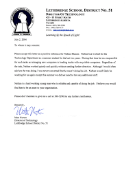 Academic Recommendation Letter Sample Image Collections - Letter ...