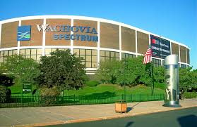 Wachovia Center Philadelphia Seating Chart Spectrum Arena Wikipedia
